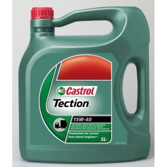 CASTROL TECTION 15W40 5L