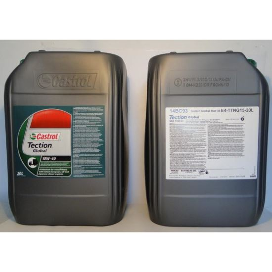 CASTROL TECTION GLOBAL 15W40 20L
